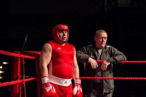 Wolfgang Wycisk und Trainer Uwe Ottehenning / Foto: Mariusz Ginel, go4boxing.com