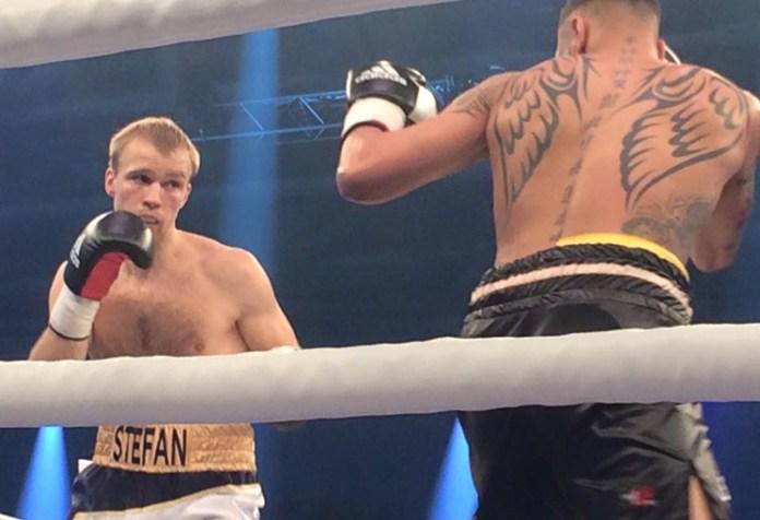 Stefan Härtel (Deutschland) vs. Tobias Webb (Großbritannien)