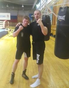 Alexander Povetkin und Adrian Granat / Foto: EC Boxing