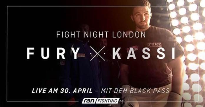 Hughie Fury VS Fred Kassi
