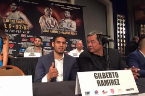 Pressekonferenz Abraham vs. Ramirez / Foto: Sebastian Heger
