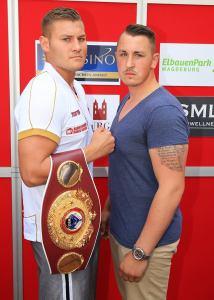 Tom Schwarz und Dennis Lewandowski / Foto: SES Team - P. Gercke