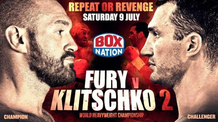Fury vs Klitschko