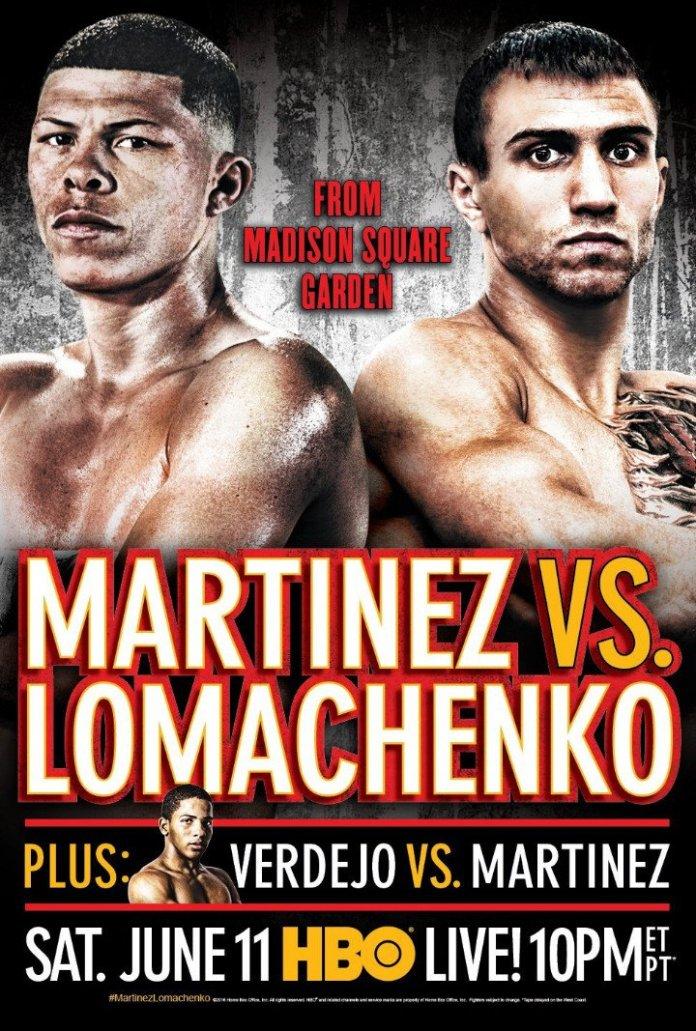 Martinez vs Lomachenko