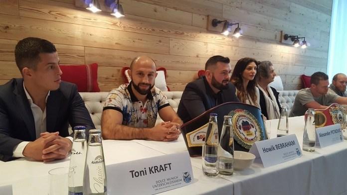 Pressekonferenz für Petkos nächste Box-Gala am Freitag, 15. Juli / Foto: Petko´s LMS Boxpromotion