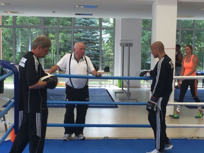 Georg Bramowski, Ulli Wegner und Arthur Abraham (Foto: Jonny Orban)