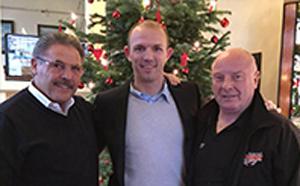 Peter Hanraths, Jürgen Brähmer und Jürgen Baumgarten