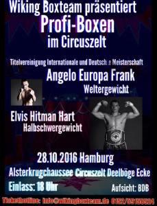 28. Oktober im Zirkus Europa in Hamburg