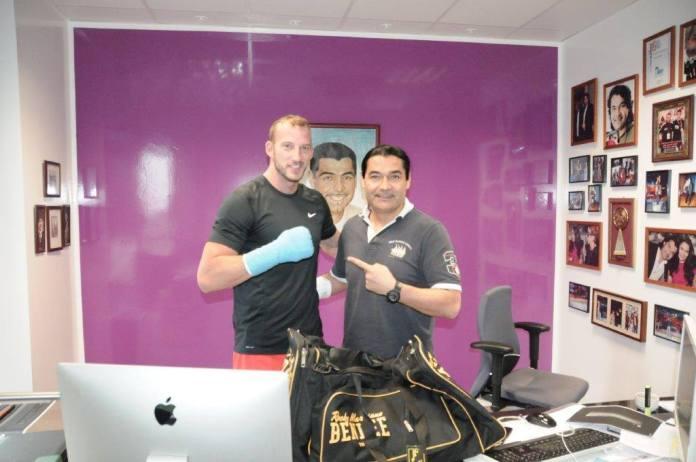 Mario Daser und Erol Ceylan / Foto: EC Boxing