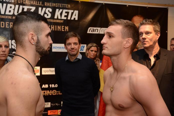 Denis Radovan vs. Jozsef Racz / Foto: Heiko Schmitt