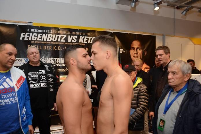 Leon Bauer vs. Gheorghe Sabau / Foto: Heiko Schmitt