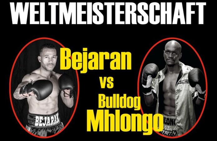 Rafael Bejaran gegen Nkululeko Mhlongo