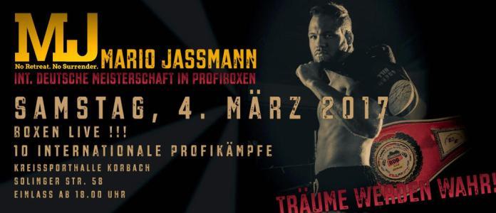 Plakat Jassmann vs Schaffran