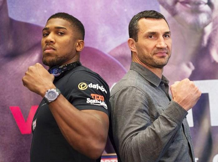 Joshua vs Klitschko