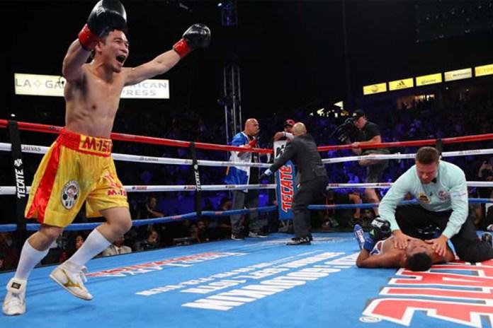 Srisaket Sor Rungvisai knockt Roman Gonzalez in der 4. Runde ganz schwer aus.