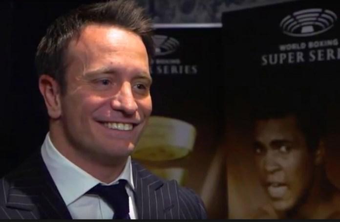 Kalle Sauerland, der Chief Boxing Officer des Veranstalters Comosa ist voll auf zufrieden mit dem Start der World Boxing Super Series.