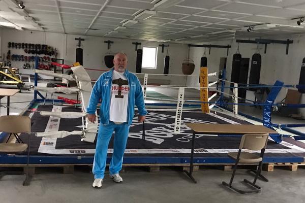 Winfried Spiering im neuen Gym in Wolgast