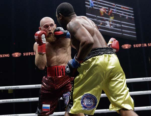 Leichfüssig und mit enormer Schlagkraft hat sich Dorticos für einen Sieg um die Muhammad Ali Trophy ins Gespäch gebracht-