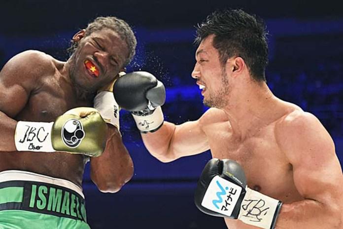 Dieses Mal ließ der japanische Olympiasieger Ryota Murata keinen Zweifel aufkommen wer der Sieger des Kampfes gegen den französischen Weltmeister Hassan N'Dam N'Jikam ist. Murata deckte den Titelverteidiger so lange mit harten, teils brutalen Körpertreffern ein, bis dieser deprimiert den Kampf aufgab.