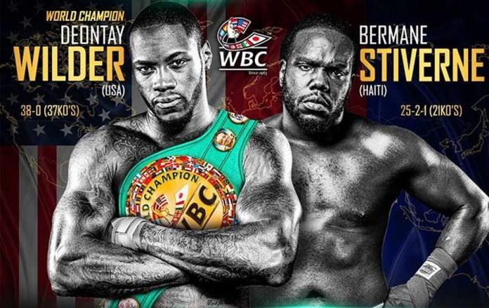 Bermane Stiverne war bisher der einzige Gegner der mit Deontay Wilder über die Runden kam. Dieses Mal verspricht Wilder ihn auszuknocken.