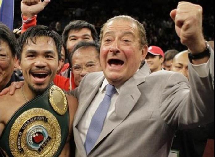 Bob Arum veranstaltete alle großen Kämpfe der Box-Legende Manny Pacquiao.
