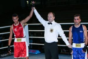 Hamza Touba holt Gold in Lübeck