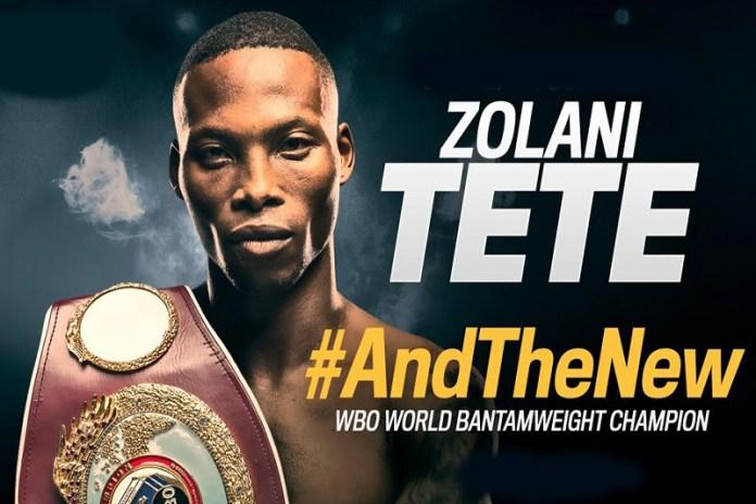 Aus der geplanten Titelvereinigung mit IBF- und WBA Super Champion Ryan Burnett wird zunächst nichts – stattdessen muss Bantamgewichtler Zolani Tete seinen WBO-Gürtel gegen Pflichtherausforderer Omar Narvarez aufs Spiel setze.