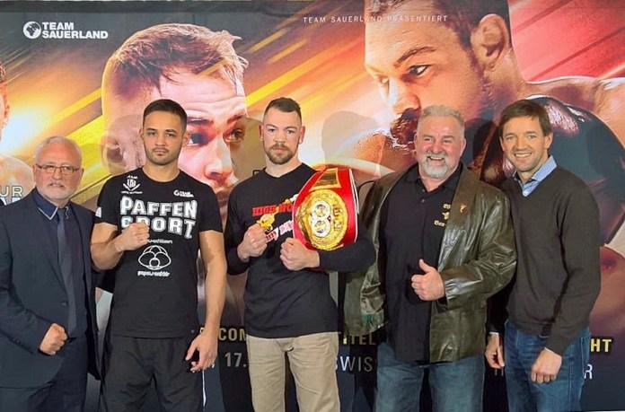 von links: Antonino Spatola, Patrick Wojcicki, Ronny Mittag, Winfried Spiering und Freddy Ness