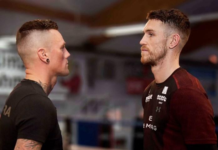Erstes Face to Face der beiden Halbfinalisten der World Boxing Super Series