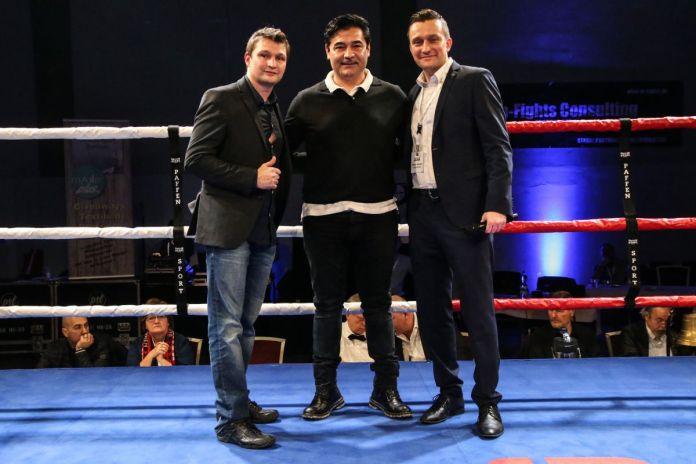Christian Morales, Erol Erol Ceylan, Raiko Morales (Fotograf Torsten Helmke)