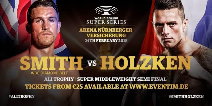 Smith vs Holzken Poster