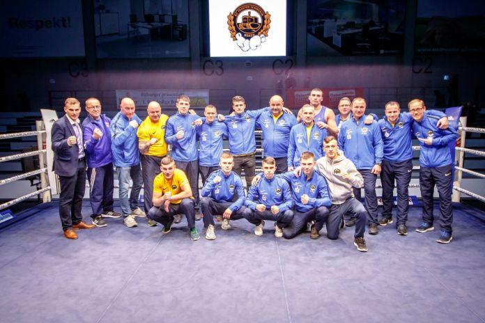 Mannschaftsfoto des BC TRAKTOR Schwerin / Foto: Boxclub TRAKTOR Schwerin