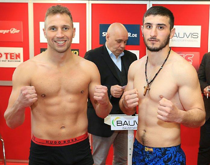 Enrico Kölling vs. Giorgi Berushvili