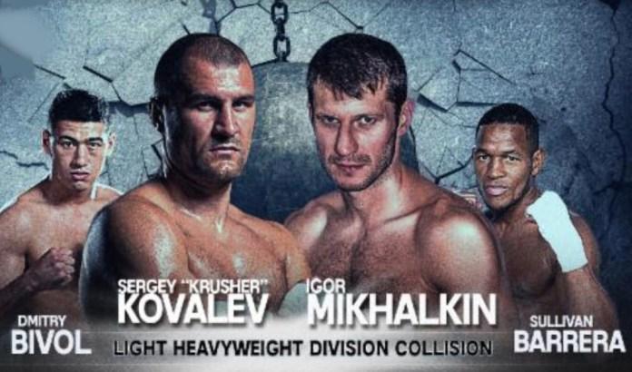 Kovalev vs Milhalkin