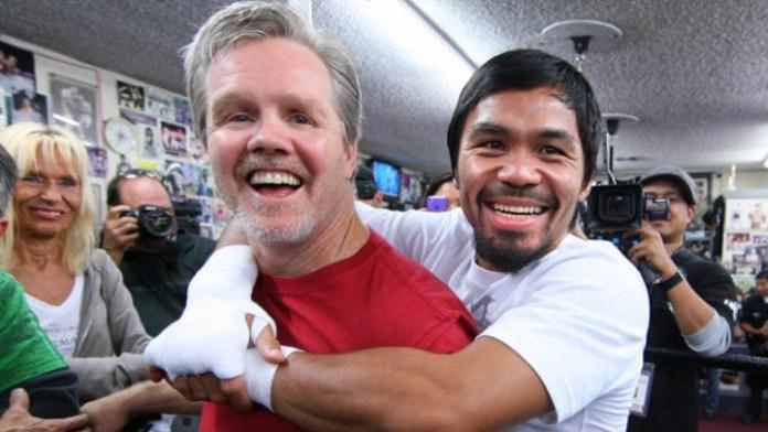 Manny Pacquiao und Freddie Roach 6