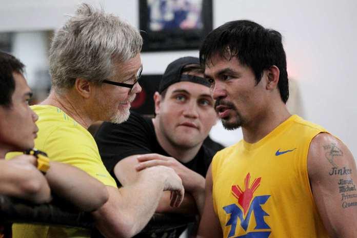 Manny Pacquiao und Freddie Roach5