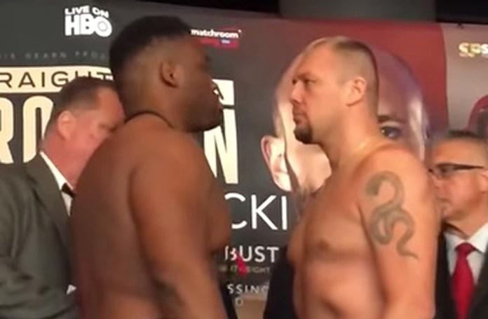 """Jarrell """"Baby Face"""" Miller vs. Johann Duhaupas beim Face to Face"""