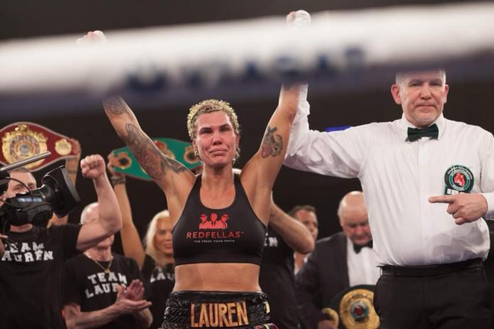 Mikaela Lauren nach Sieg über Verena Kaiser / Foto: Team Sauerland