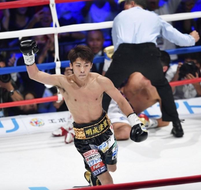 """Inoue zerstört McDonnell in nicht einmal zwei Minuten. Für wahr ein kleines """"Monster""""."""