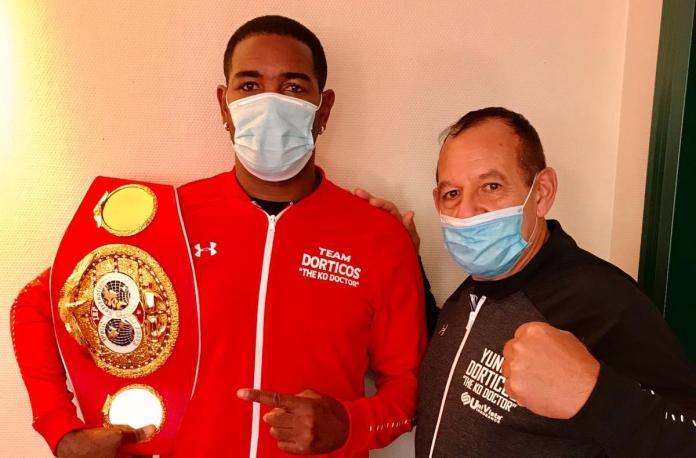 Yuniel Dorticos mit Trainer Pedro Roque