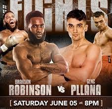Brandon Robinson vs Genc Pllana Poster