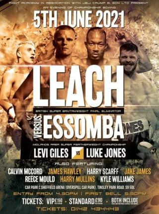 Marc Leach vs Thomas Essomba Poster