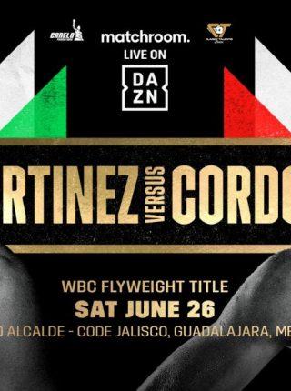 Cesar Martinez vs. Joel Cordova Poster