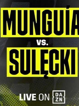 Jaime Munguia vs Maciej Sulecki Poster
