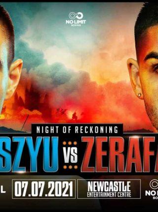 Tim Tszyu vs Michael Zerafa Poster