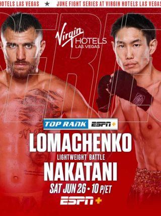vasyl-lomachenko-vs-masayoshi-nakatani Poster