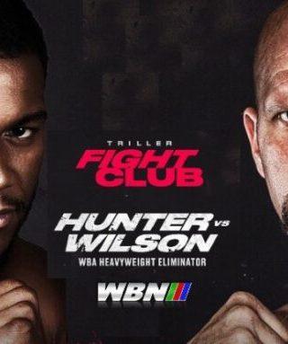 Michael Hunter vs Mike Wilson Poster