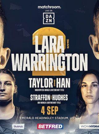 mauricio-lara-vs-josh-warrington-2 Poster