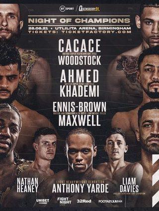 Akeem Ennis Brown vs. Sam Maxwell Poster 1