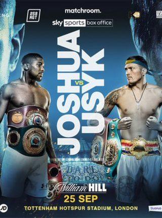 Joshua vs Usyk Fight-Poster